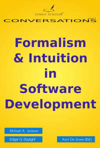 Front cover 'Formalism & Intuition in Software Development'