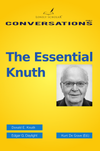 The essential Knuth, front cover